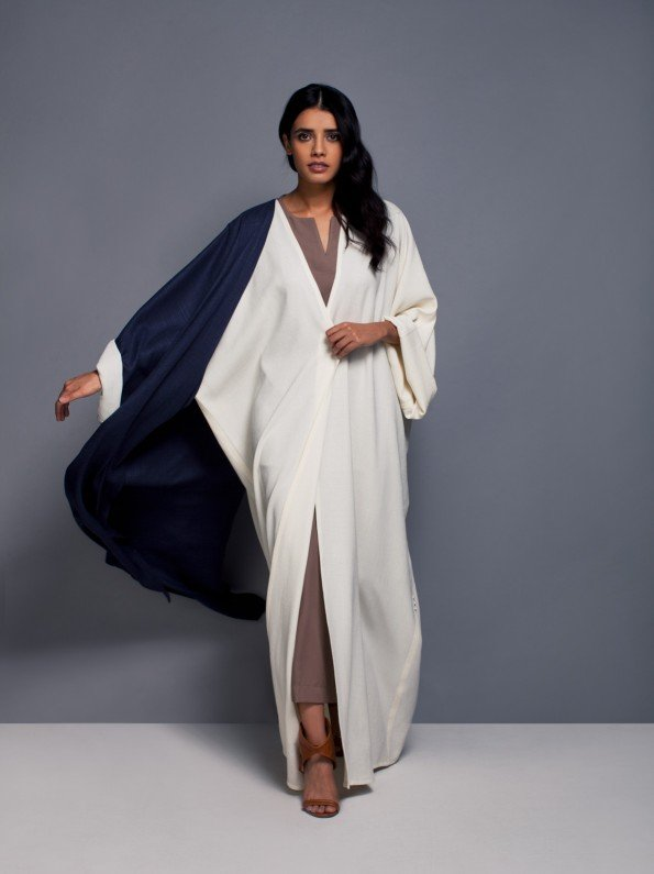 EPIPHANY - Oversized asymetrical abaya