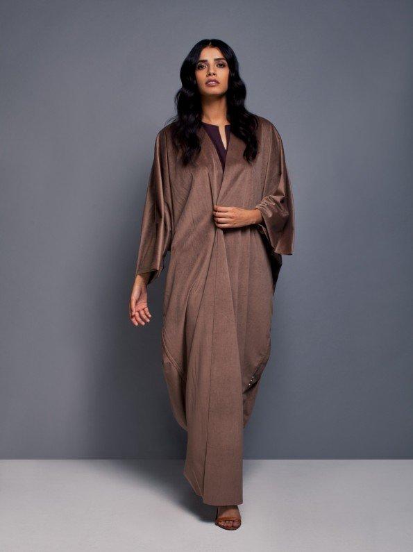 EPIPHANY - Oversized hemless abaya