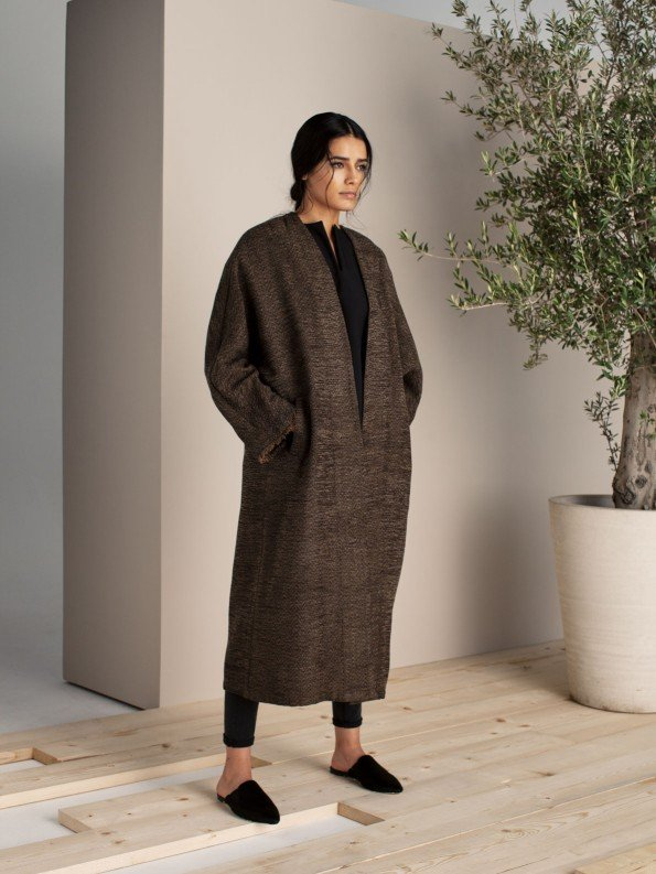 EPIPHANY - 3/4 length coat